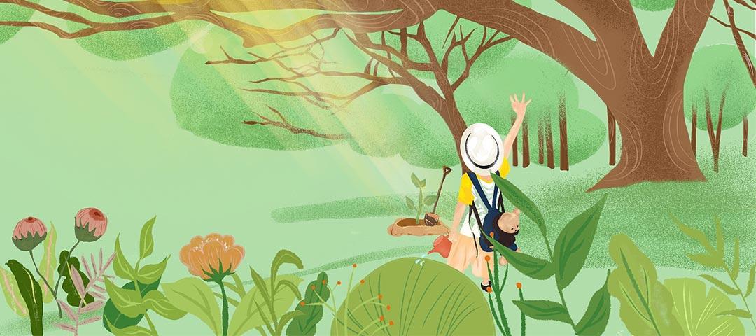 汇汇活动站:植树节返利活动