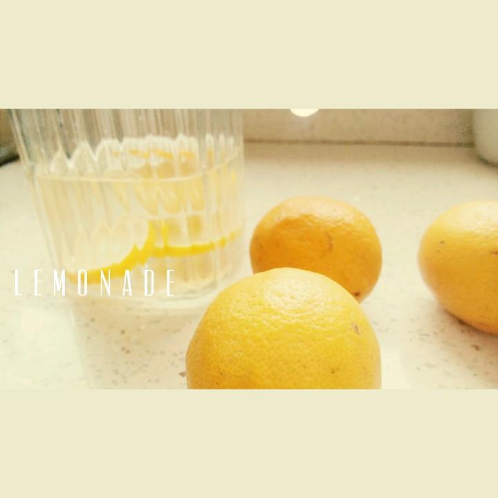 小清新可爱柠檬水图片