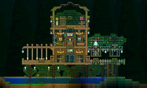 泰拉瑞亚 完整版_泰拉瑞亚中的建筑也可以很美